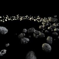3d asteroid belt
