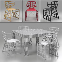 quaderna table crassevig ole 3d obj