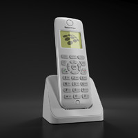 3d model cordless phone