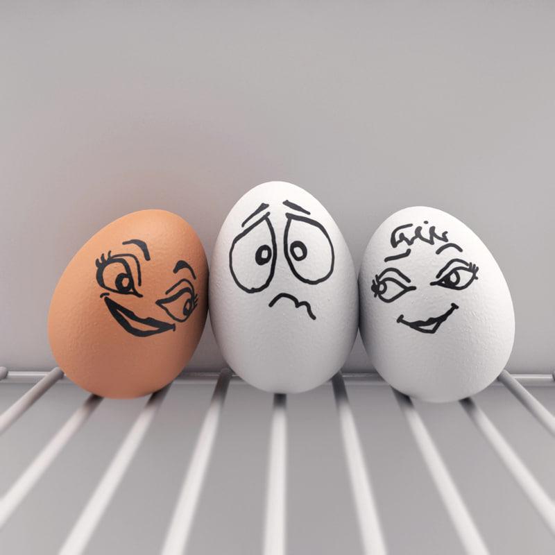 funny eggs emotion mood - photo #22