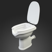 disable toilet dxf