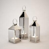 eichholtz hurricane lantern 3d 3ds