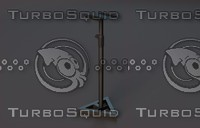 3d model studio speaker stand millenium