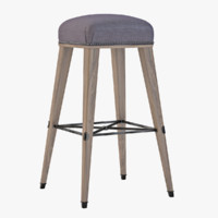 3d model jacob counter stool