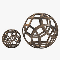 geo large decorative 3d max