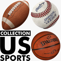 modeled us-sports ball football 3d model