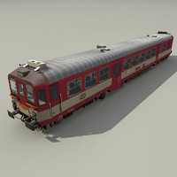 diesel multiple unit 842 3d model
