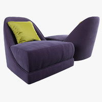 Opera_Contemporary Luccille armchair