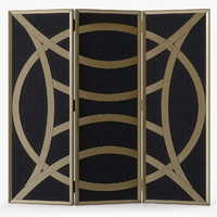 Currey & Company Clara Folding Screen