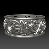 3d ornament ring 2