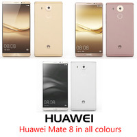 huawei mate 8 colours 3d max
