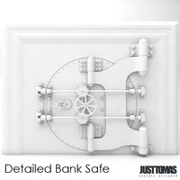 Detailed Bank Safe