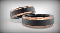 copper ring 3d 3ds