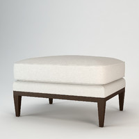 3d baker westminster ottoman model