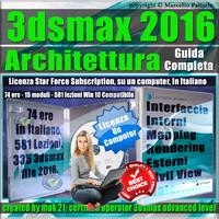 Corso 3ds max 2016 Architettura Guida Completa  Locked Subscription, un Computer