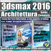 Corso 3ds max 2016 Architettura Guida Completa Subscription 2 Computer
