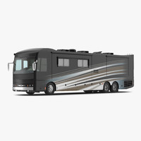 american recreation vehicle rv 3d c4d