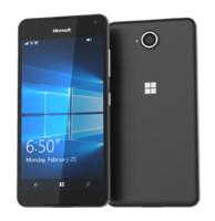3d model microsoft lumia 650 black