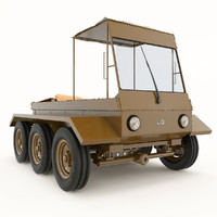 tractor 3d max