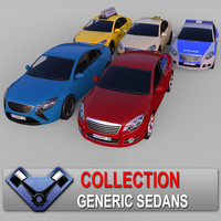 "Generic Sedans Collection ""Majestic"