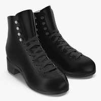 women boots 3d c4d