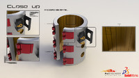 fluid heater 3D models