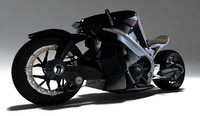 3d model ostoure motorcycle moto