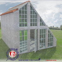 3ds greenhouse house