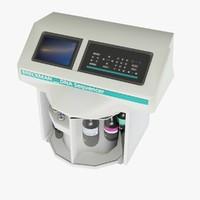 dna sequencer 3d model
