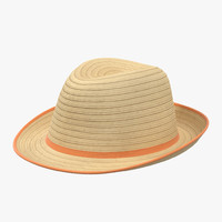 3d womens straw hat