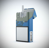 3d model chesterfield cigarette pack