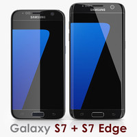 Collection Samsung Galaxy S7 + S7 Edge Black