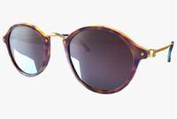 ray ban round fleck_RB2447