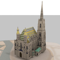 3d st stephen s cathedral