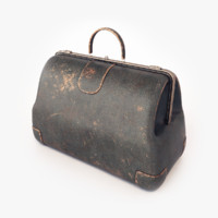 old doctor s bag 3d model