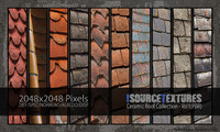 Ceramic Roof Collection - Vol1 (PBR Textures)