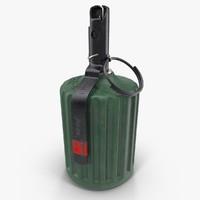 grenade rgz-89 3d model