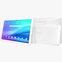 realistic samsung galaxy view 3d model