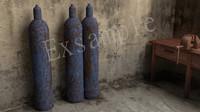 gas cylinder oxygen obj