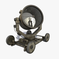searchlight modeled games 3d model
