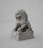 lion chinese 3d model