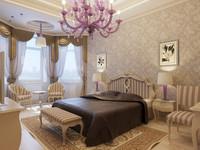 3d interior master bedroom