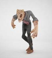 3d model zombie horror