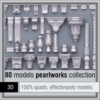 3d model 1d pearlworks 80 items