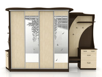 3d lobby cabinet model