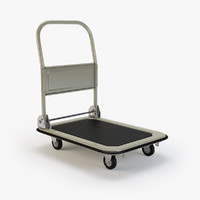 foldable platform truck 3d x