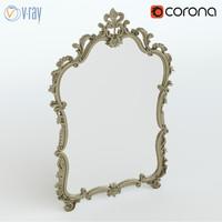 mirror silik 3d model