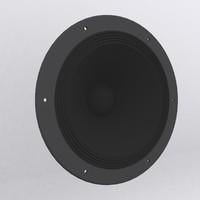 speaker 3d dwg