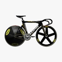 look 496 racing bike 3d model
