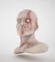 3d model zombie creature